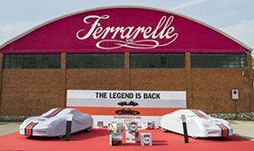 Presentazione Porsche Boxster 718 in co-marketing con Ferrarelle